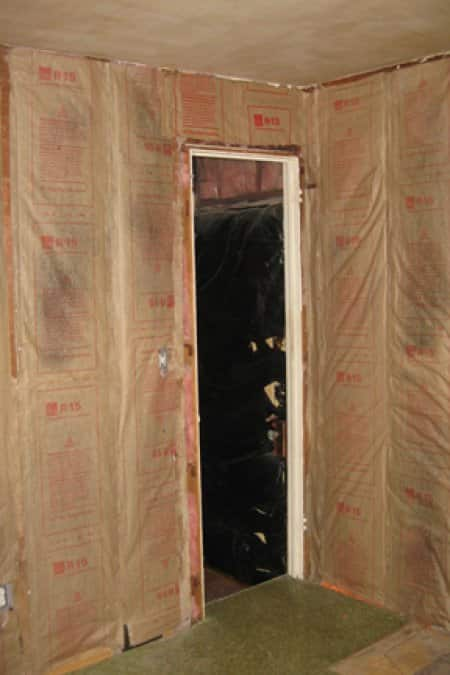 Plaster wall insulation