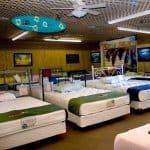 Fox Mattress bed showroom in Daytona Beach, Florida