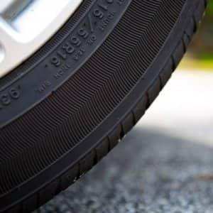 All four tires should maintain similar tread wear. (Photo by Eldon Lindsay)