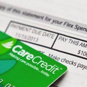 CareCredit is a credit card issued to consumers exclusively for the purpose of paying medical expenses. (Photo by Brandon Smith)