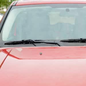 Quickly repairing a crack, chip or dent in a windshield can help you avoid a potential safety hazard. (Photo by Fred Patton)