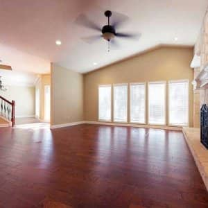 Hand scraping is a contemporary wood flooring trend with old-time roots. (Photo courtesy of Angie's List member Justin W.)