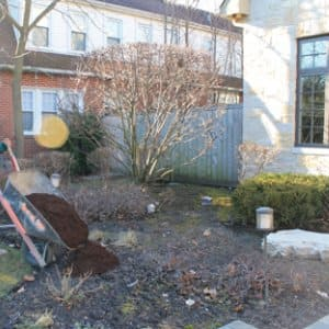 Landscapers mulch to moderate soil temperature, conserve moisture, suppress weeds and to add organic matter to the soil as the shredded bark breaks down.