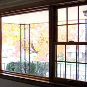 Window film is more affordable than purchasing insulation, by far. (Photo courtesy of Clifford Pohl)