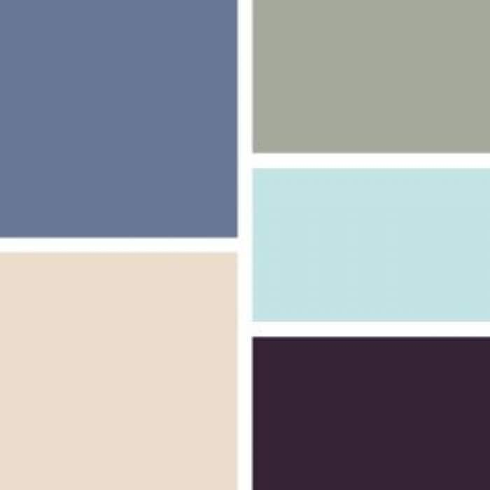 classic cool paint swatches