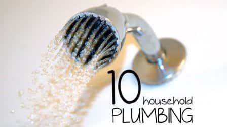 10 household plumbing tips