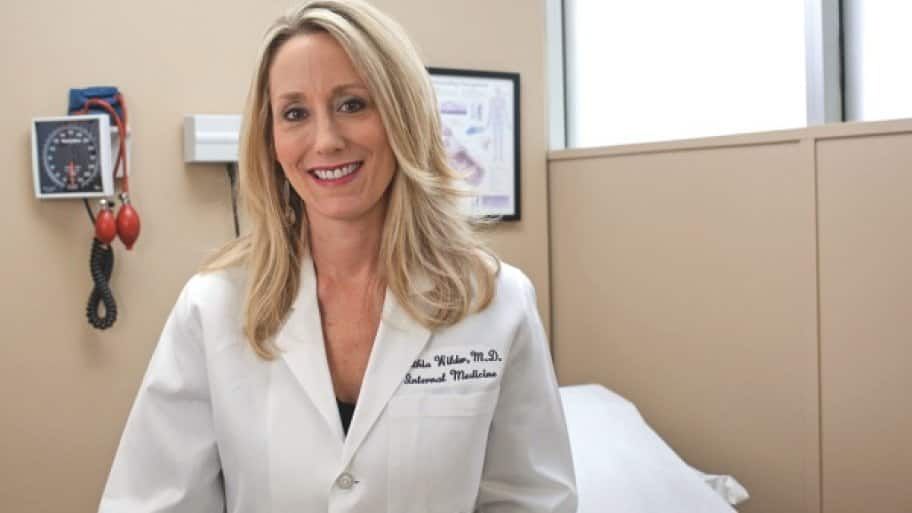 Dr. Cynthia Wilder says she, like her fellow doctors at MedProvider, utilizes the latest cutting-edge technology to help patients. (Photo by Eric Priddy)