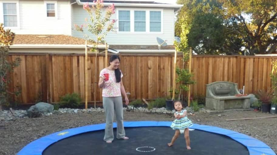 In-Ground Trampolines president Andrew Bracanovich says ground-level trampolines present a safer option. (Photo courtesy of In-Ground Trampolines)