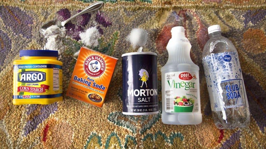 homemade carpet cleaner ingredients