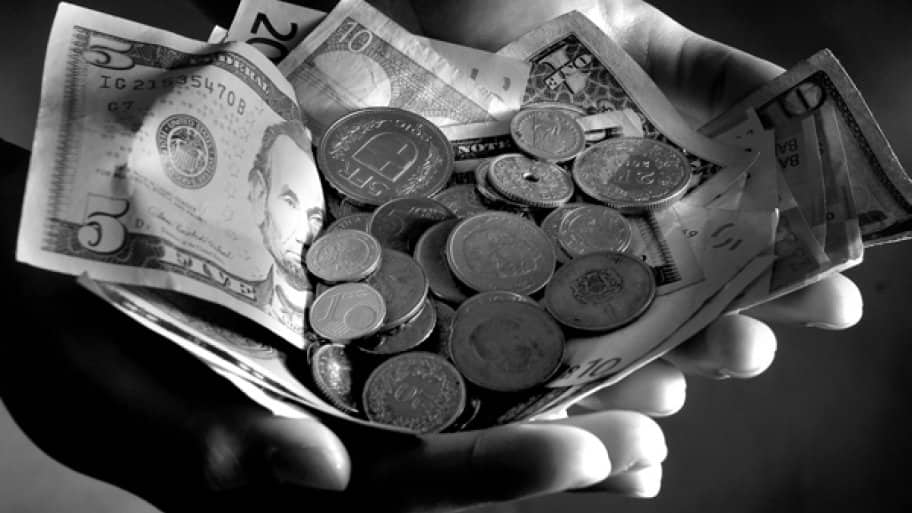 Paper money and coins