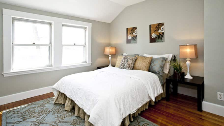 Staging your home helps potential buyers imagine how to use the space and know what will fit in each area of the home. (Photo courtesy of Angie's List member Laura B. of Webster, N.Y.)