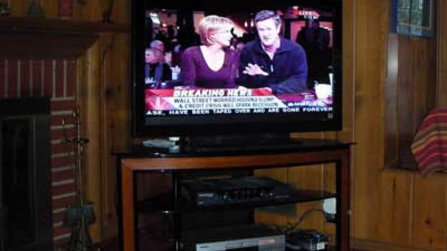 Be sure to know what warranty comes with your new TV purchase before purchasing another one. (Photo courtesy of Angie's List member Dianne M. of Indianapolis)