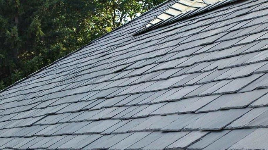 slate shingled roof