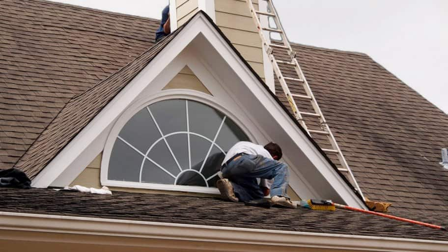 roof repair on shingles