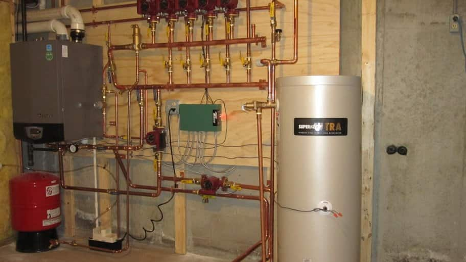 zoned heating system for efficiency